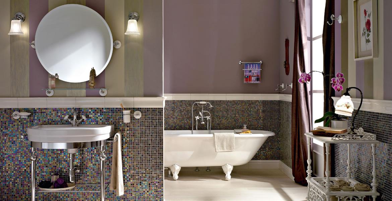 Salle de bain style authentique ma salle de bain sur - Concevoir salle de bain ...